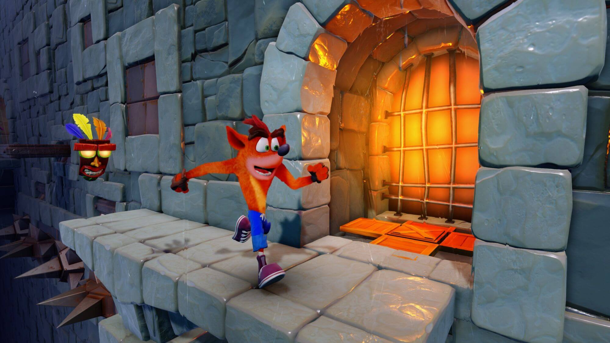 Crash Bandicoot N. Sane Game Play