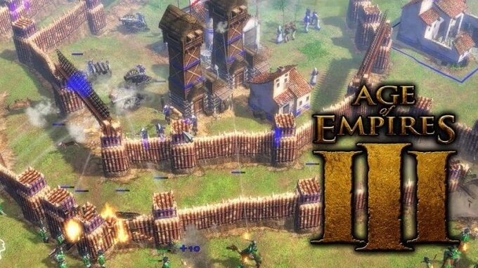 Age-of-Empires 3 GamePlay