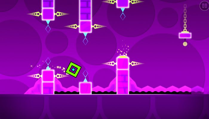 Geometry-Dash gameplay